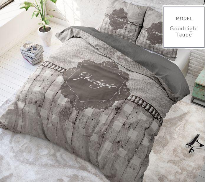 Elegancka beżowa młodzieżowa pościel na łóżko do sypialni w przeplataną kratkę