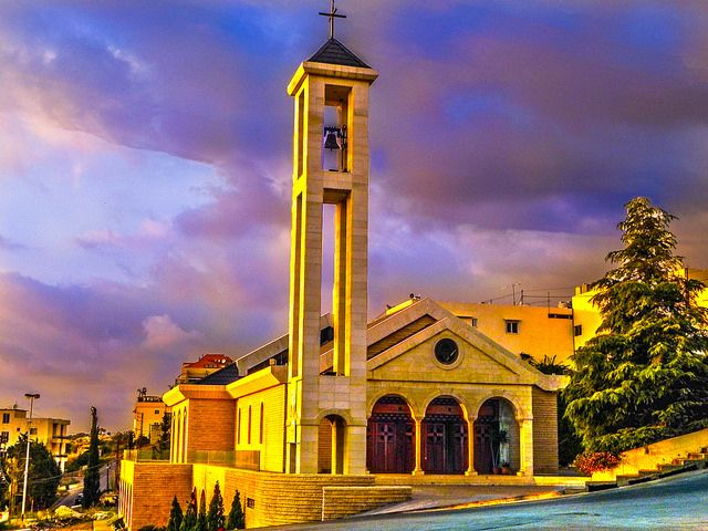 Kfaryaseen church Lebanon