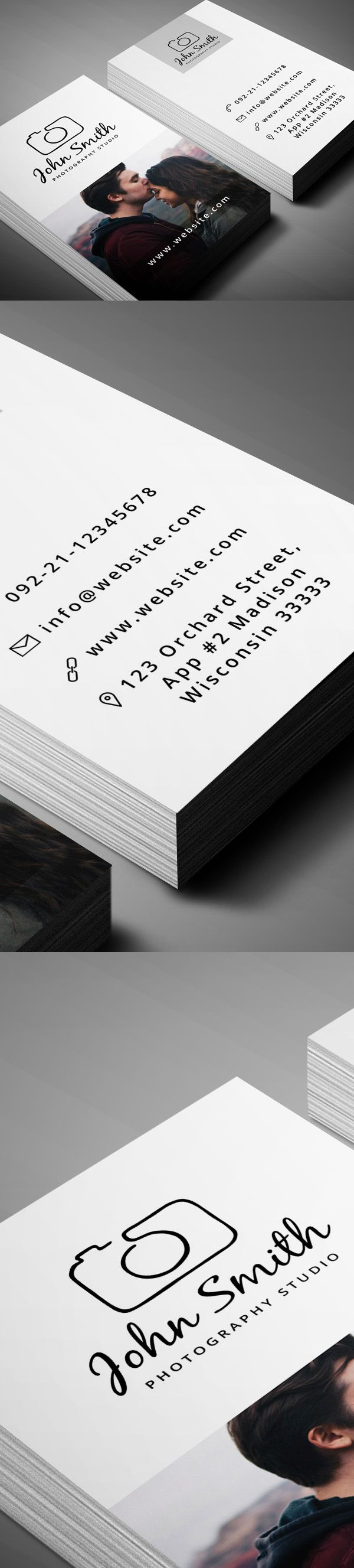 Best 25 photographer business cards ideas on pinterest a simple creative free business card multipurpose designed for freelance photo agencies and professional photographers magicingreecefo Image collections