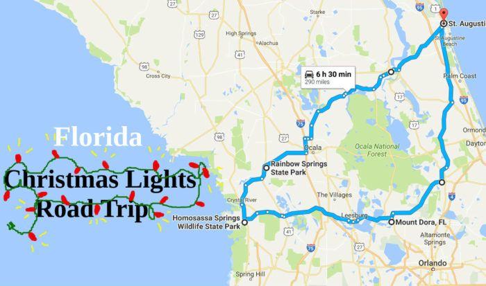 Travel | Florida | Christmas | Road Trip | Holidays | Christmas Lights Displays | Christmas In Florida