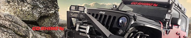 Go Rhino™ Off-Road Bumpers | Off-Road Front Bumpers, Off-Road Rear Bumpers, Off-Road Bumper Accessories - CARiD.com