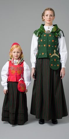 FolkCostume&Embroidery: Overview of Norwegian Costumes, part 2. The eastern heartland. Ringerike