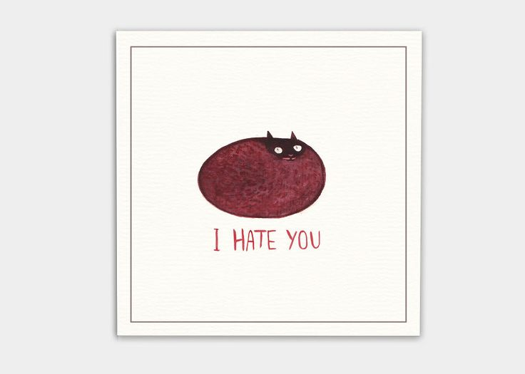 Best Greeting Cards Images On Pinterest Postcards - Funny postcards insult your enemies in the cutest way possible