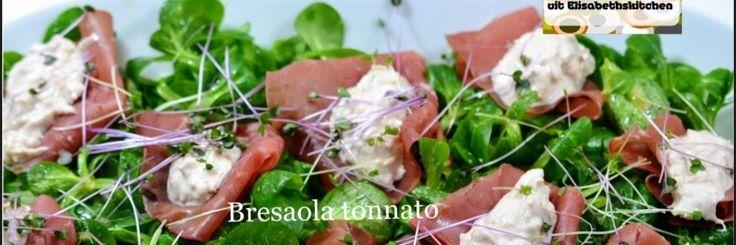 Vitello tonnato is een bekend voorgerecht in Italië. Het is aangebraden kalfsvlees die verder gegaard wordt in de oven. Afgekoeld in plakken gesneden. Erbij wordt een tonijn-mayonaise saus