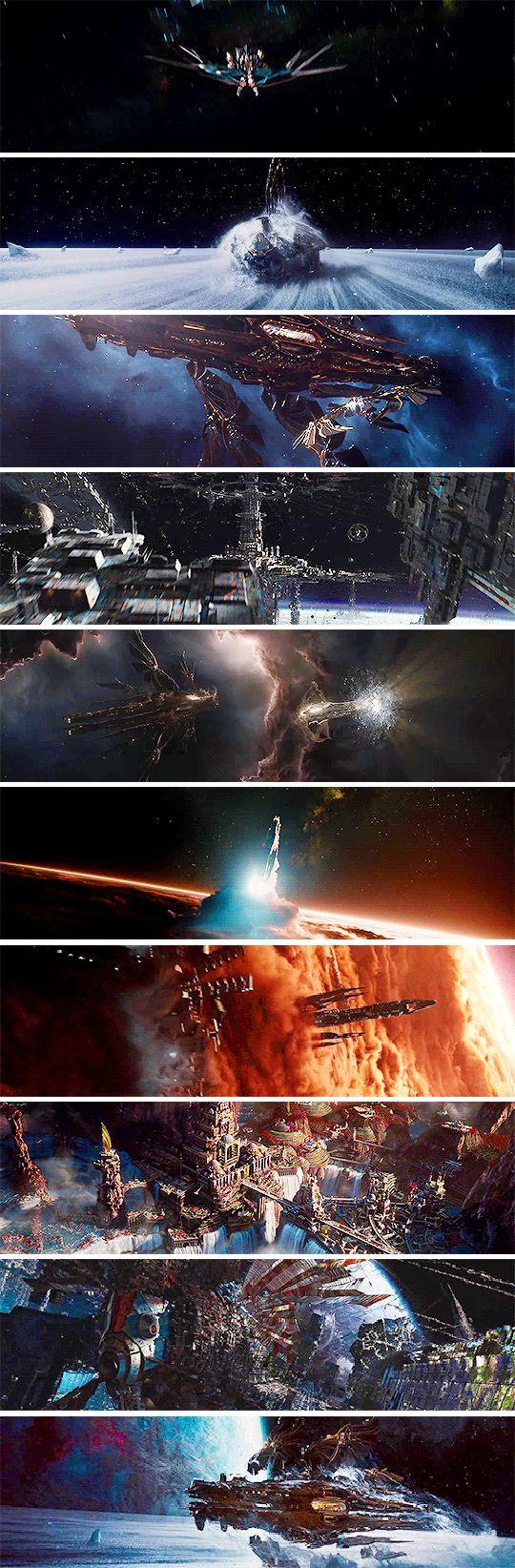 Jupiter Ascending Cinematography 1/3: Space