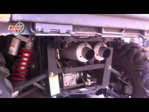 Looney Tuned Exhaust - Quiet Core Installation        ~~~~~~~ TRAX ATV Store - traxatv.com ~~~~~~~ TRAX ATV Youtube - https://www.youtube.com/channel/UCI_ZJAkR3aGdwcM0z7dO94w/videos?view=1=grid
