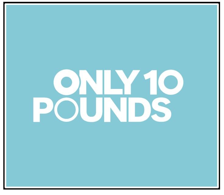 Only Ten Pounds branding by Grain & Mortar: Pound Branding, Ten Pound