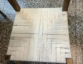 Encordar una silla de madera