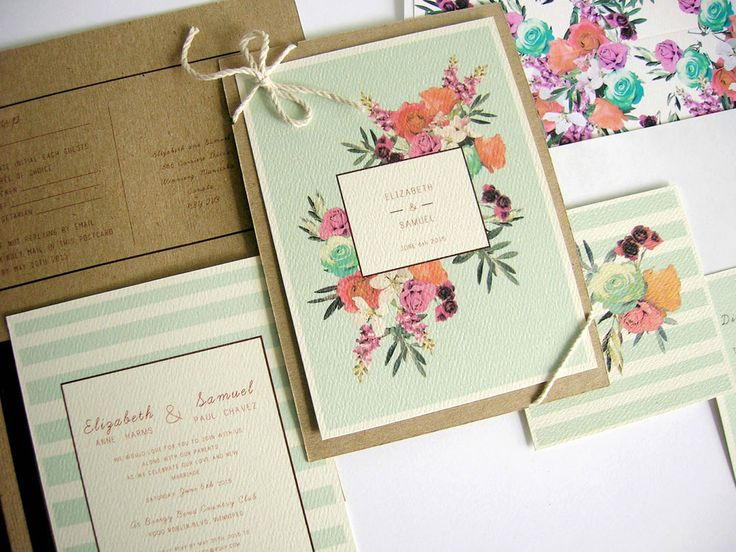 Keeks Paper Co.       Location : Winnipeg, Manitoba     Why we love them : Founder Kyla Donkergoed specializes in romantic, trendy paper goods. We especially love her unique watercolour and geometric invitations.