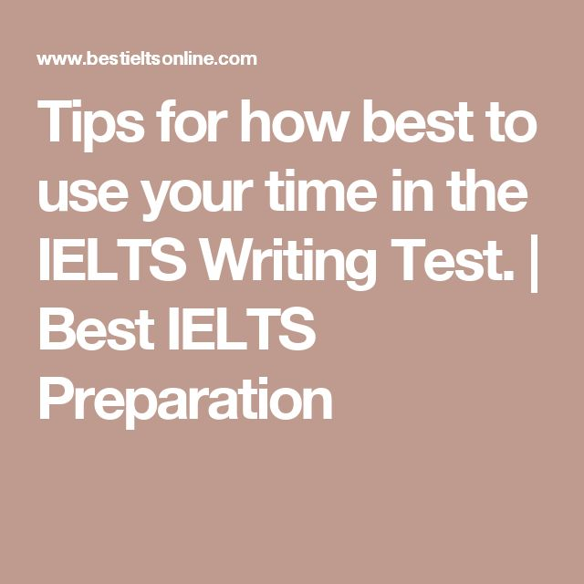 Time writing test online