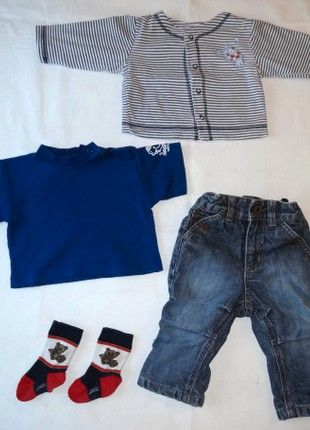 Kupuj mé předměty na #vinted http://www.vinted.cz/deti/kluci-kalhoty/18708262-znackovy-set-vel-62-68-obleceni-podzim-zima