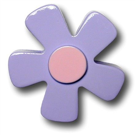 Pastel Daisy Purple Drawer Pull @$16.00