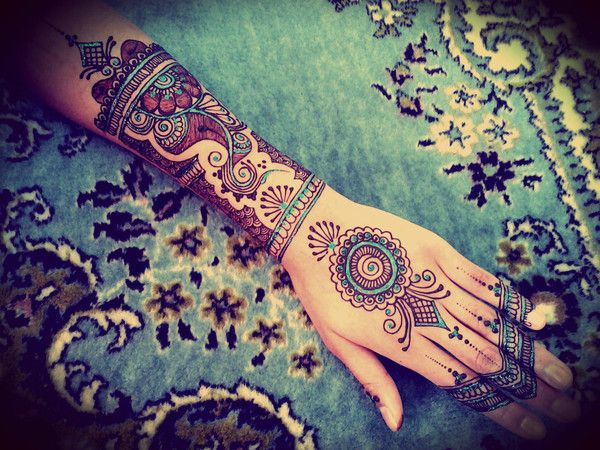 Henna Tattoo Zurich : Best henna inspirations and creations images