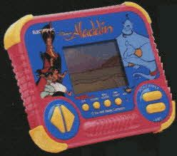 Aladdin Game Price: $27.14  Description An exciting hand-held game based on Disneys Aladdin movie.