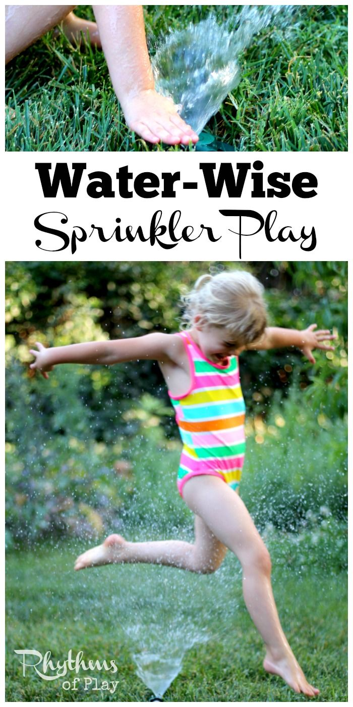 Water and ice activities summer camp at home with 12 weeks of easy - Check Out These 5 Green Living Tips For Water Wise Sprinkler Play With The