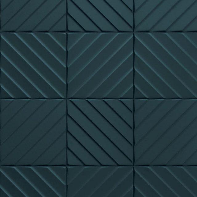 Multidimensional 3d Textured Ceramic Wall Tiles Creative Materials Wall Tiles Blue Tile Wall Floor Tile Design