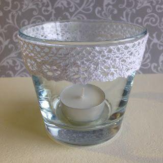 Randis hobbyverden: Gjenbruk av duftelys i glasskrukker