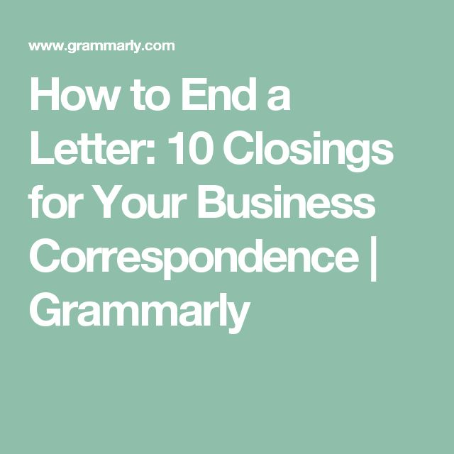The  Best Business Correspondence Ideas On   Article