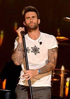 LOS ANGELES, CA - NOVEMBER 18:  Singer Adam Levine of Maroon 5 performs onstage...