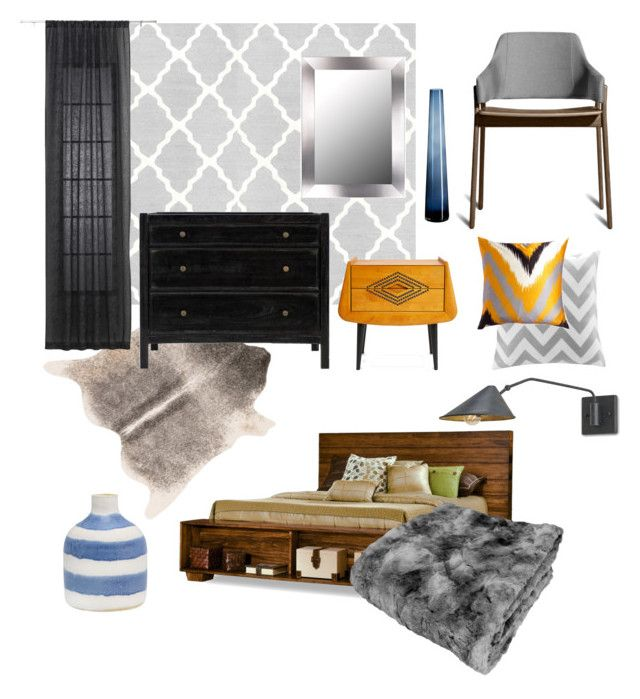 """Restrained artist"" by marina-london on Polyvore featuring interior, interiors, interior design, home, home decor, interior decorating, Dot & Bo, Blu Dot, Jonathan Adler and Jayson Home"