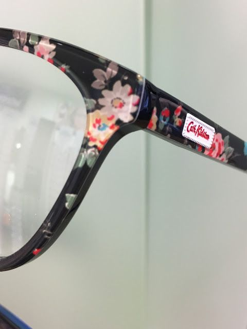 Cath Kidston frames for glasses from Specsavers - I am definitely having some of these next time...