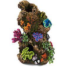 Top Fin® Coral & Plant Rocky Aquarium Ornament
