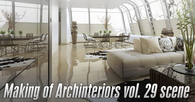 Making of Archinteriors vol. 29 scene - Evermotion.org