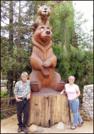 Disney® Brother Bear Sculpture 14 feet tall Three-dimensional Redwood California Disney® Adventure During the making of Brother Bear R. lost 10 pounds, ...