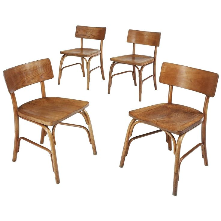 Set of Four 1930s Husum Chairs by Frits Schlegel | 1stdibs.com