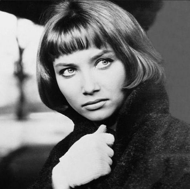 The actress Pola Raksa ,1964