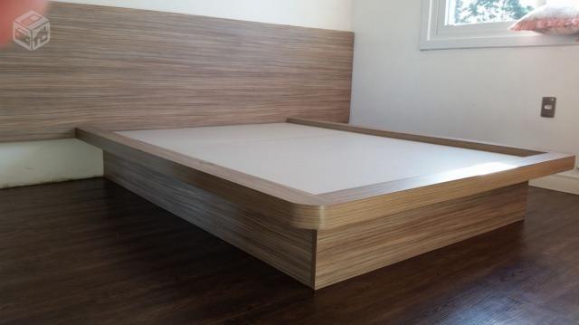 Base de cama e cabeceira juntos apenas R