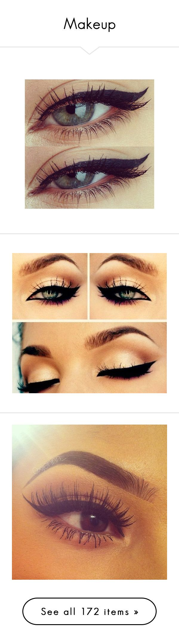"""""""Makeup"""" by insanenyc ❤ liked on Polyvore featuring beauty products, makeup, eye makeup, eyes, beauty, winged eye makeup, lip makeup, bobbi brown cosmetics, bobbi brown makeup and mac cosmetics"""