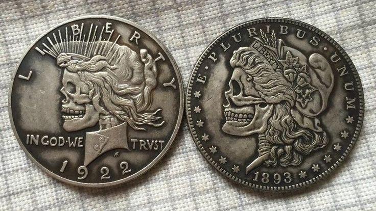 Hobo Nickel two face USA Morgan and Peace Dollar SOUVENIR COIN FREE SHIPPING | Coins & Paper Money, Exonumia, Hobo Nickels | eBay!