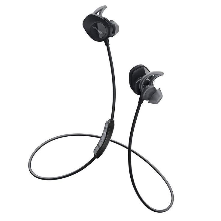 Earbud headphones sound sport wireless convenience