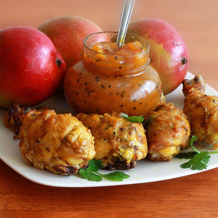 Mango Chutney Chicken   The Daring Gourmet
