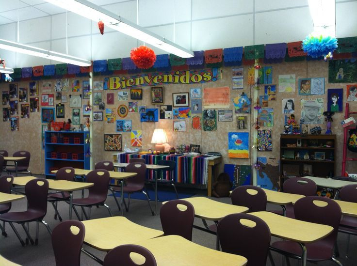 spanish classroom decorating ideas                              …