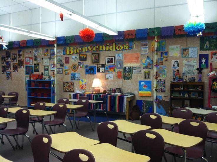 Spanish Teacher Classroom Decorations ~ Ideas about spanish classroom decor on pinterest