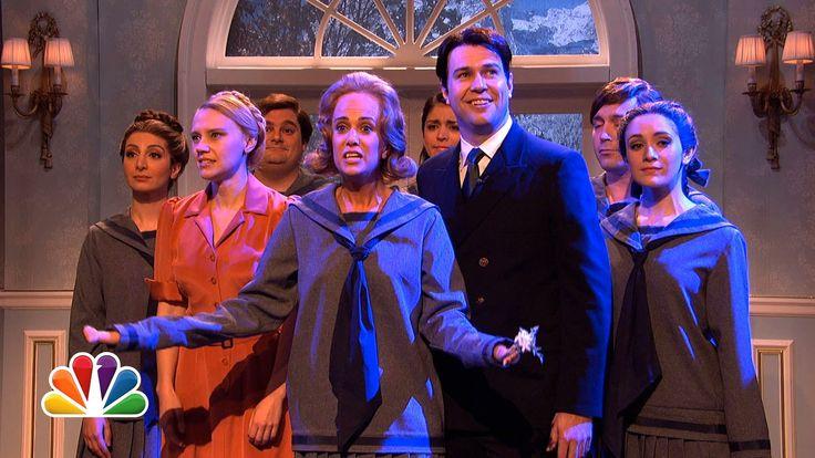 Sound of Music Cold Open - #SNL Highlight Featuring Kate McKinnon and Kristen Wiig #KateMcKinnon & Taran Killam