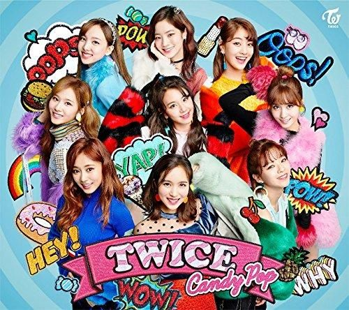 Twice Candy Pop (First Press Edition) (Type A) (JP) CD+DVD 2018