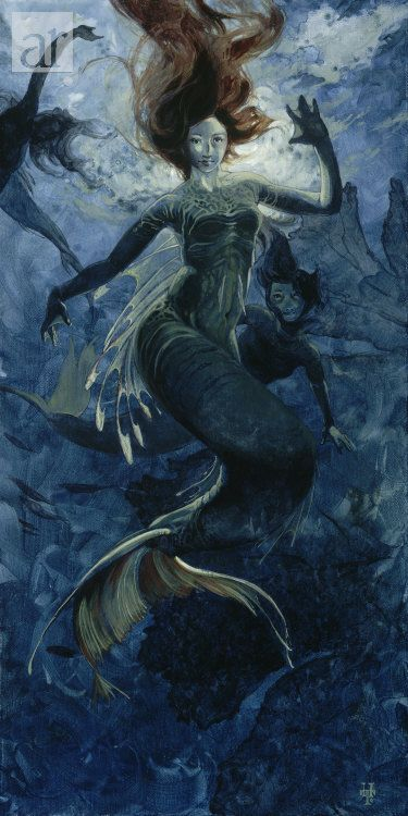 As I Was Drowning.Fairies Mermaid Angels Art, Sea Creatures, Sea Sirens, Art Photography, Artsy Stuff, Artists Unknown, Artists Heather, Artists Rise, Heather Theurer