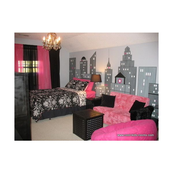 Pink And Black Girls Bedrooms 56 best domino's room images on pinterest | home, bedroom ideas