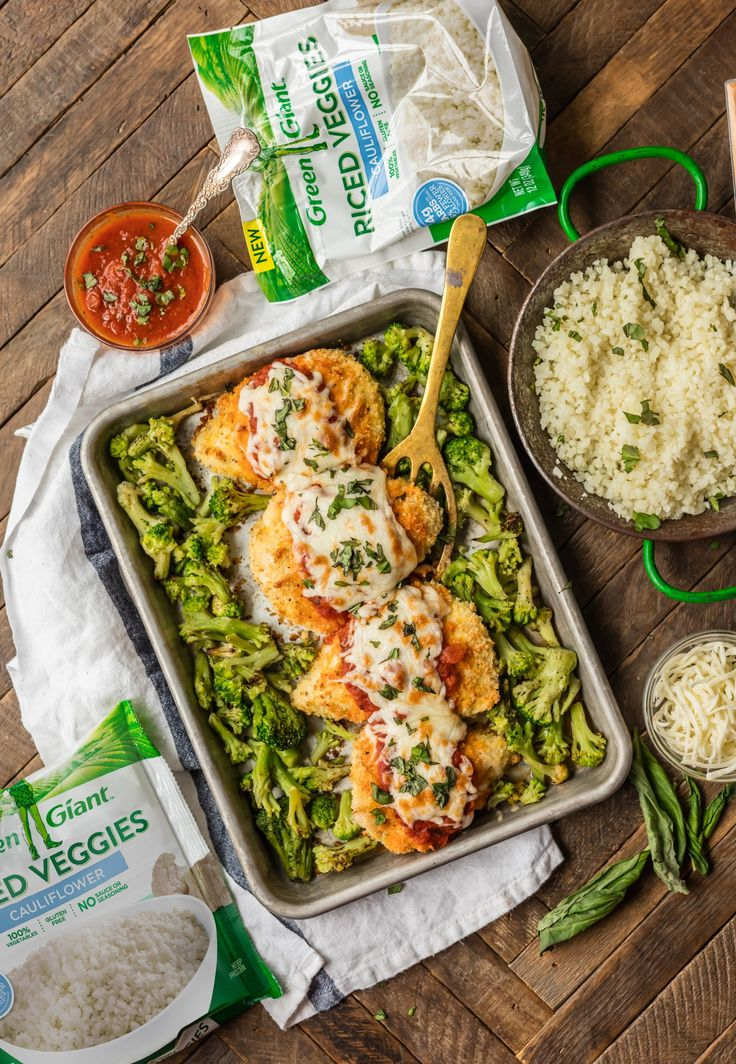 [ad] New Green Giant Riced Cauliflower makes this SHEET