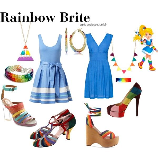 What Color Hair Does Rainbow Brite Have