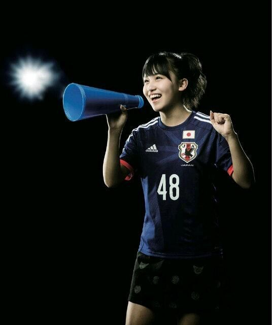 "kawaii supporter : ""Samurai Blue"" Japan : 2014 FIFA World Cup Brazil : #WorldCup #SamuraiBlue"