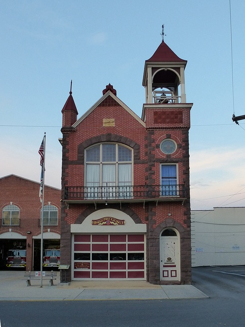 Carlisle, PA firehouse, via Flickr.