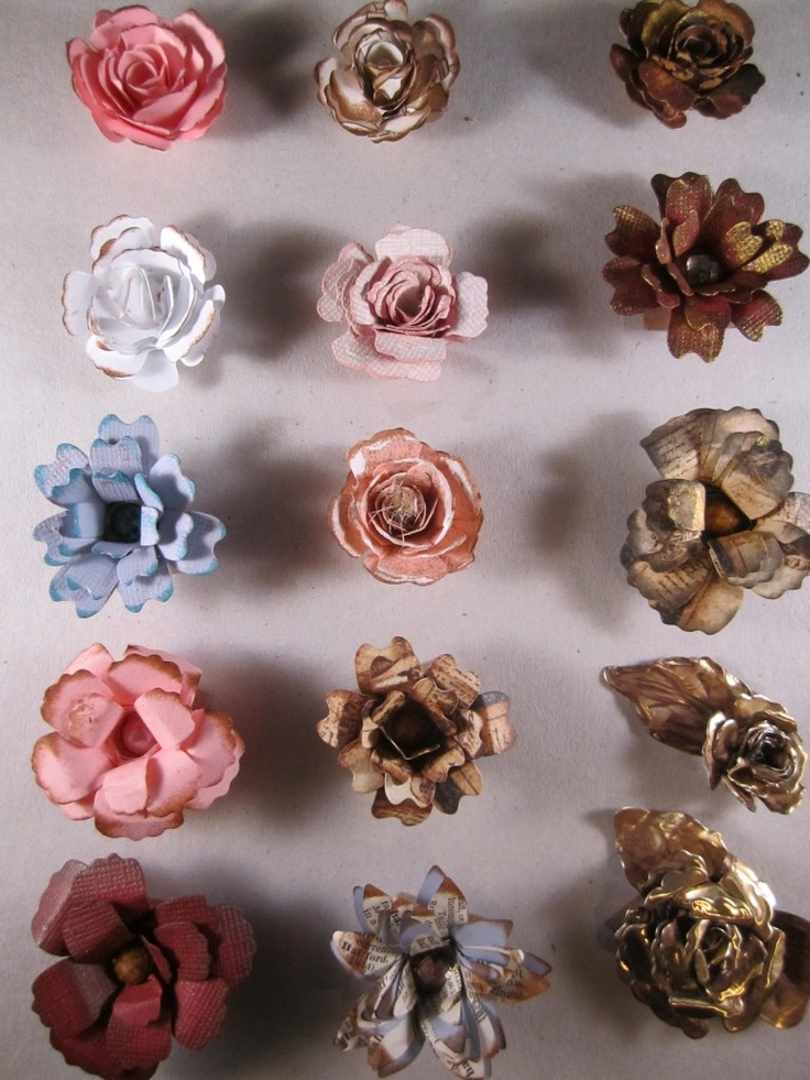 17 best ideas about handmade paper flowers on pinterest for Handmade paper flowers tutorial