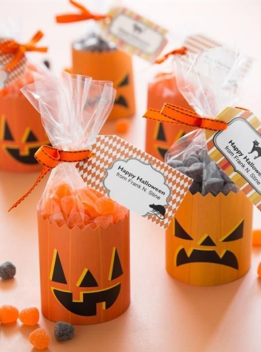 four great diy halloween treat ideas labels tags and cards oh my - Diy Halloween Favors