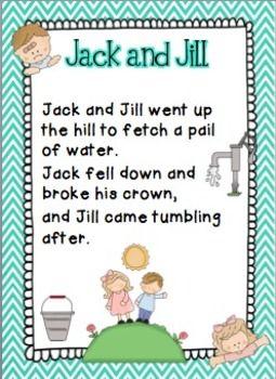 Nursery Rhymes Activities Packet 2