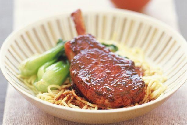 Teryaki Pork Cutlets.Quick, easy and tasty