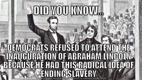 Some Historical Perspective of Boycotting the Inauguration… – Liberal Logic 101